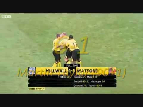 Watford FC 2010/11 - Part 1