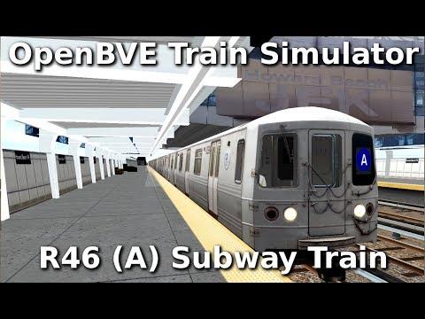 OpenBVE ►A Train to Far Rockaway!◀  (R46)
