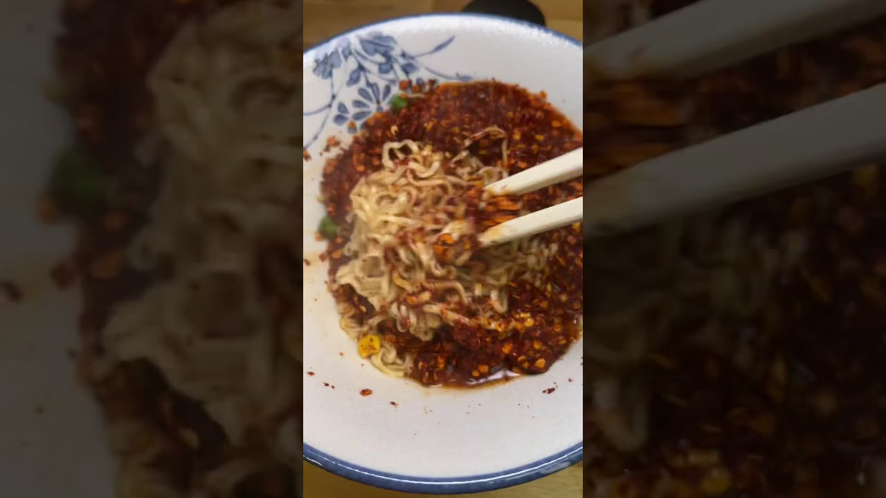 Attempting the spicy noodle challenge Pt. 1