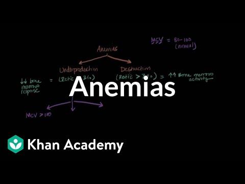 Microcytic, normocytic, and macrocytic anemias | NCLEX-RN | Khan Academy