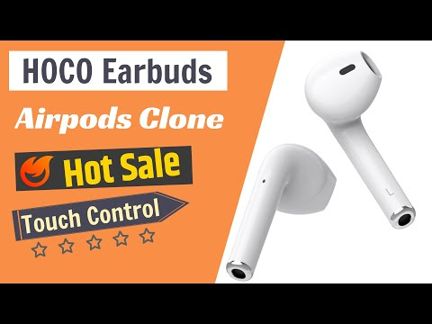 hoco-es20-earbuds-|-fake-apple-airpods-|-no:1-clone-airpods-|-master-copy-airpods-under-50-dollar