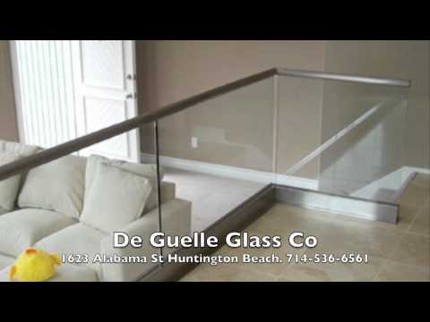 De Guelle Glass Co Huntington Beach 714-536-6561 Glass Installation Glass Repair