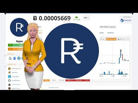 rupee rup cryptocurrency