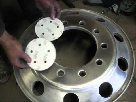 How To Polish Aluminum Wheels >> How To Polish Aluminum Rims - YouTube