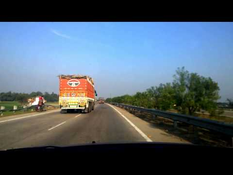 Allahabad Bypass - Full journey (towards Varanasi)