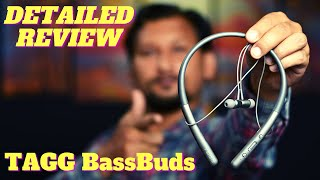 Tagg BassBuds Bluetooth Neckband Detailed Review amp Unboxing