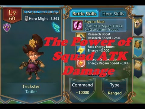 Lords Mobile Mechanics - How Important Is Squad Damage?