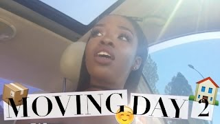 moving vlog day 2   ikea fail i got a benz