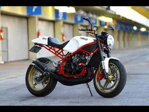 1987 yamaha rd350 custommotorscompany - youtube