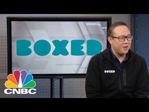Boxed CEO: The