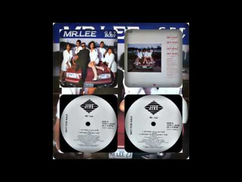 MR LEE - GET BUSY (CLUB MIX, RADIO MIX, CHICAGO MIX, HIT MAN'S HOUSE MIX 1989)