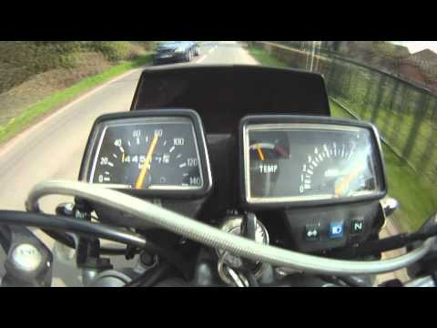 Yamaha DT 125 R 30-100km/h