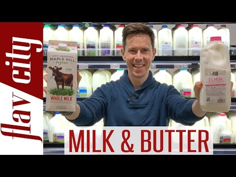 Milk & Butter Review - How To Buy The BEST Milk & Butter At The Grocery Store