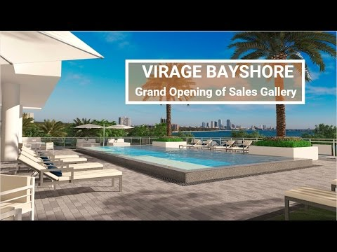 Grand Opening of Virage Bayshore's Sales Gallery