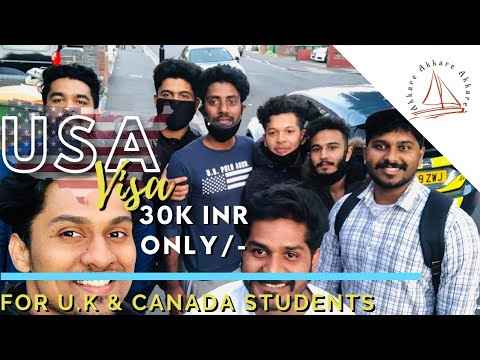 US Visa For International  Students | Uk Students Experience