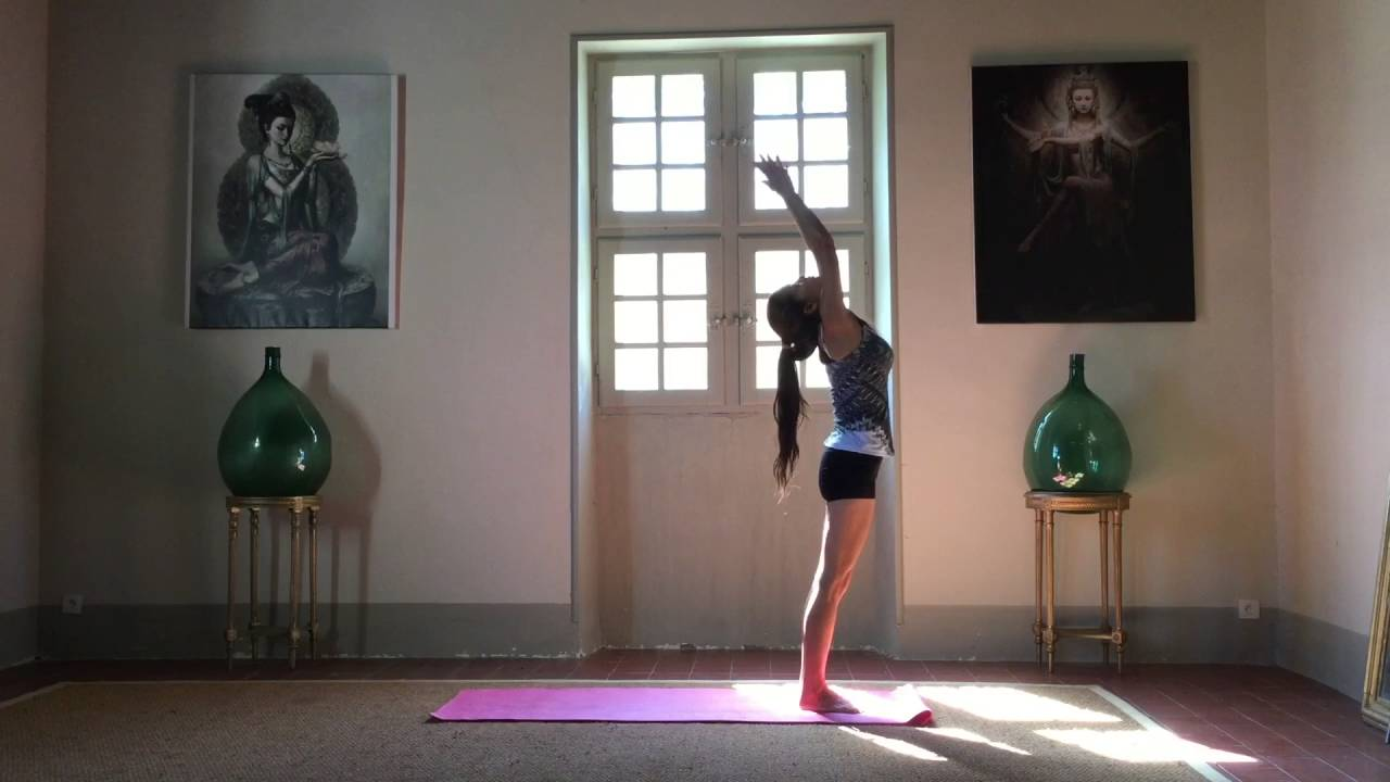 Sun salutation. Move your body, flow your energy. - YouTube