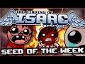 watch he video of The Binding of Isaac: Rebirth - Seed of the Week: DRENCHED IN BLOOD!