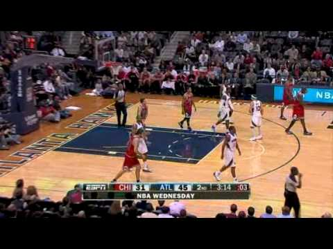 Bulls vs Hawks (NBA Highlights) 09/12/2009