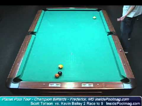 Scott Tollefson vs. Kevin Bailey at Champion Billiards