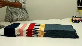 How to make polo t-shirt cutting