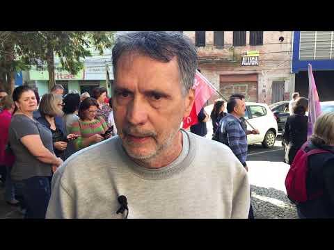 Depoimento do professor aposentado Mário Sérgio de Melo, do Departamento de Geologia da UEPG