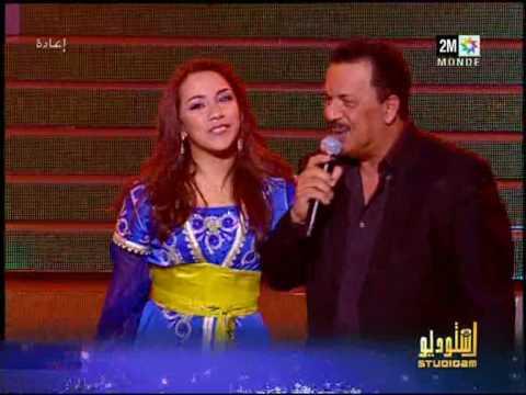 Rabab Studio 2M ,Bouchaib Aljadidi son pere, Haw maloulou Chanson Marocaine  2M Maroc.mpg