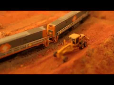 Modelling Railway Toy Train Track Plans -Remarkable Australian Model Trains – Nullarbor Style