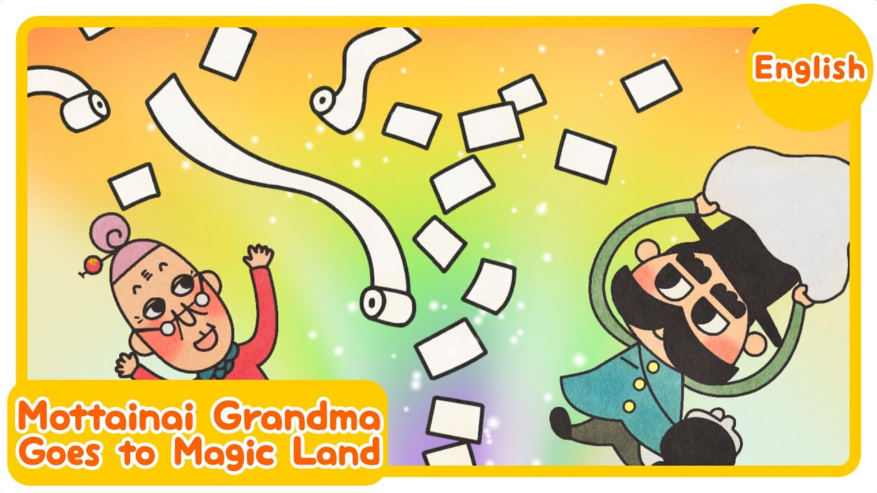 Mottainai Grandma Goes to Magic Land [Official Anime]
