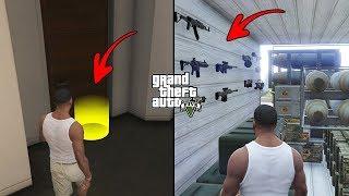 Unlocked Secret Doors in Franklin's House in GTA 5! (Secret Locations)