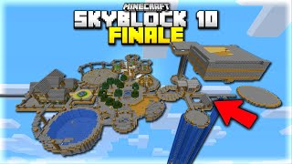This is What 100 Hours of Minecraft Skyblock Looks Like... (Minecraft Skyblock Finale)
