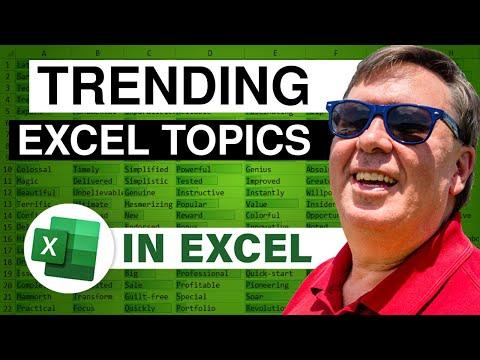 Excel Shortcuts - Ctrl+5 For Strikethrough - Episode 2118