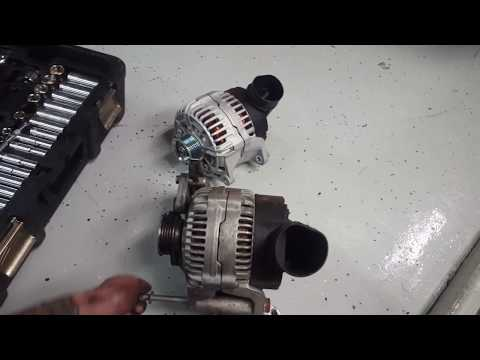 Lamborghini Gallardo alternator replacement / swap / removal