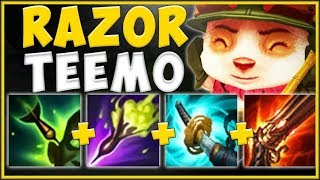 WTF RIOT! WHY CAN THE TINIEST TEEMO DO THIS MUCH DAMAGE?? TEEMO SEASON 9 GAMEPLAY! League of Legends
