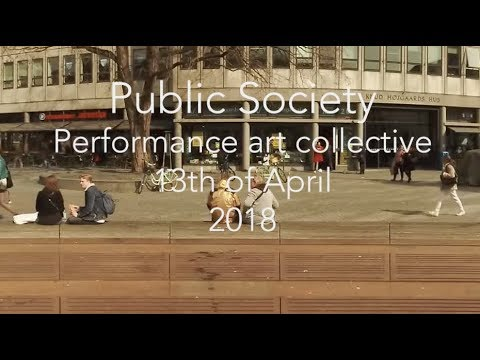 Public Society - Collective performance at Kultorvet
