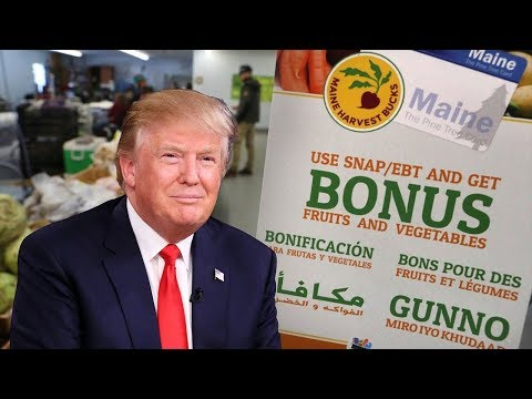 Trump Reforms Food Stamp Program (SNAP) Without Congress!