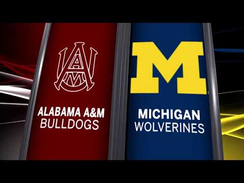 Alabama A&M at Michigan - Men