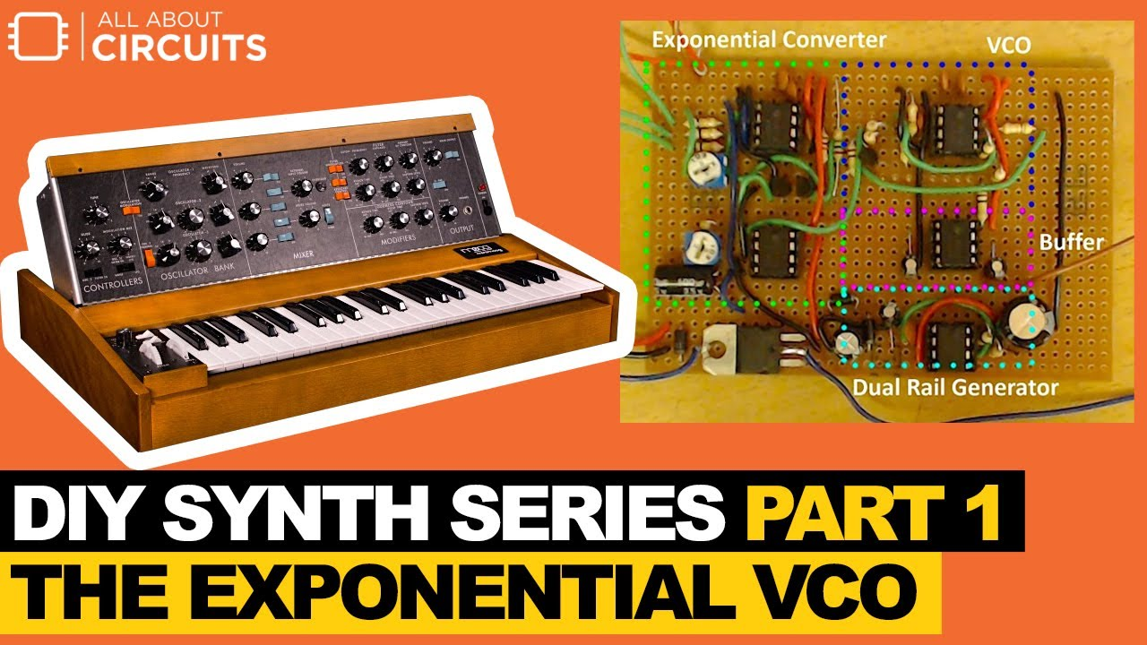 DIY Synth Series Part 1 — The Exponential VCO