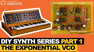 DIY Synth Series Part 1 - The Exponential VCO