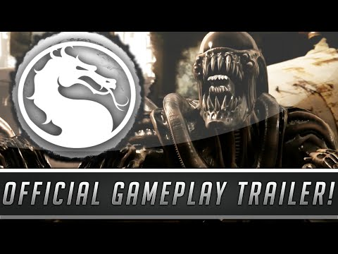 Mortal Kombat X - Kombat Pack 2 GAMEPLAY TRAILER! (LeatherFace, Alien, TRI-BORG & Bo' Rai Cho)