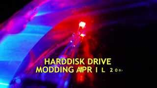 Hard Disk Drive Modding with Lights