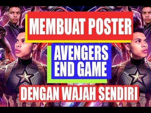 Avengers endgame photoshop poster