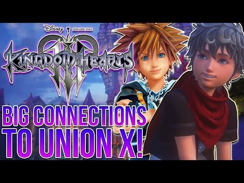Kingdom Hearts 3 - Nomura Talks About Big Connections to Union X!