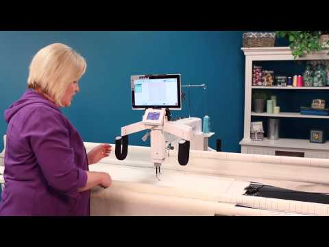 Edge-to-edge Quilting with HQ Pro-Stitcher