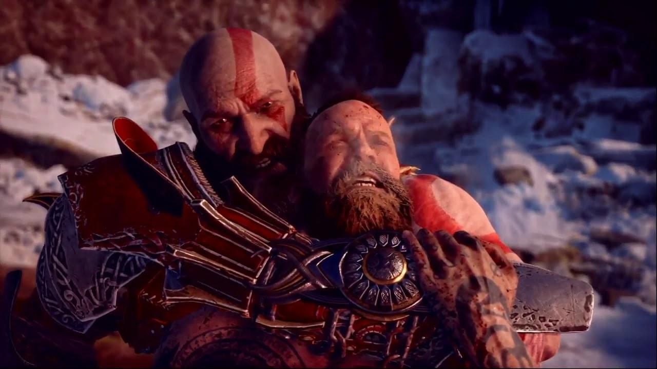 God Of War 4 Kratos Cita A Zeus En La Muerte De Baldur