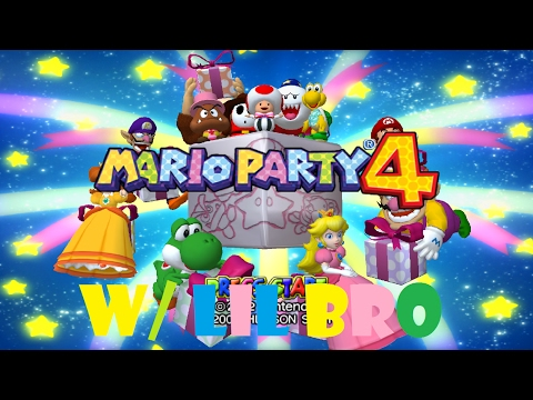 Industrial Crane Challenge Gone Wrong :Mario Party 4 With Lil Bro