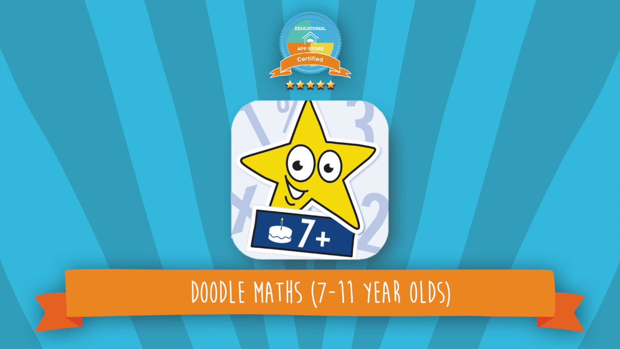 Doodle Maths | Math App for Kids - YouTube