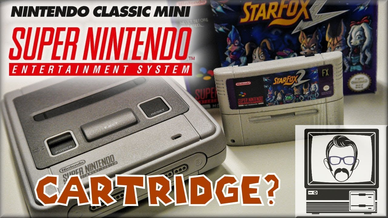 SNES Classic Mini Starfox 2 Cartridge | Nostalgia Nerd