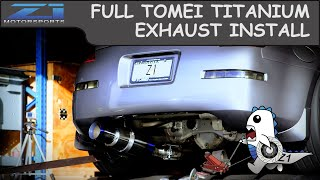 Tomei Expreme Titanium Exhaust 350z Install - Z1 Motorsports
