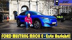 Ford Mustang Mach E - Erste Fahrt Europas + Laden/AHK/Updates/Lieferzeit uvm.