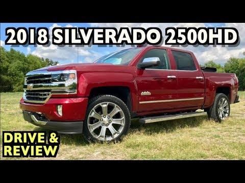 Watch This: 2018 Chevrolet Silverado 2500HD Drive and Review